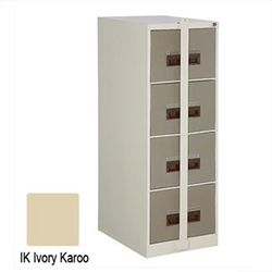 Filing Cabinet Steel 4 Drawer with Security Bar