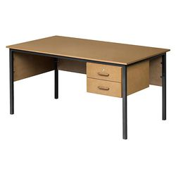 Classroom Teacher's Desk with 2/3 Drawers Supawood