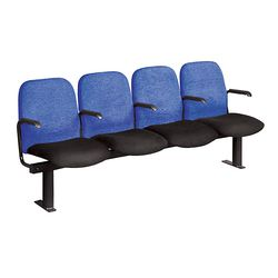 Auditorium (2A) Tip Up Seating with Arms Fixed