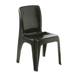 Alpine Plastic Stacking Chair - Various Heights