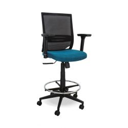 Orion Draughtsman Chair (Netted Backrest)