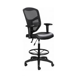 Que Draughtsman Chair (Netted Backrest)