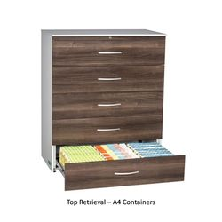 Top Retrieval Cabinet - A4 Container Filing