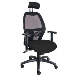 Xenon High Back Chair with Netted Back