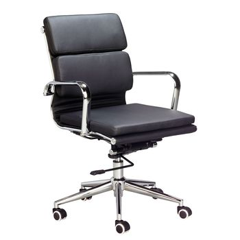 Eames Replica Padded Medium Back Chair