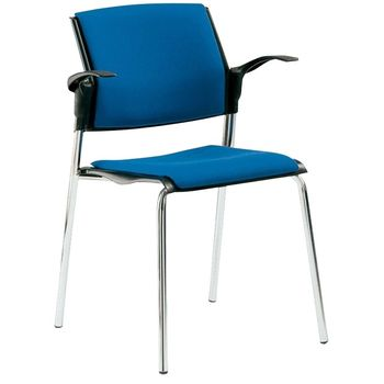 Movie 4 Legged Chair Upholstered - With and Without Arms