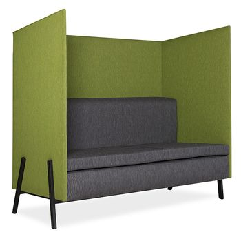 Chit Chat Straight Booth - PC Steel Rectangular Tube Legs