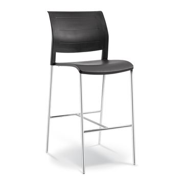 Connect Bar Stool - Polyprop Shell