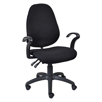 S 3000 Low Back Operators Chair with Arms (Y100)