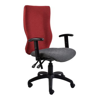 S 6000 Operators Chair with Y400 Arm Rests (Adjustable)
