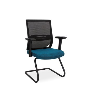 Orion Visitors Arm Chair (Sleigh Frame)