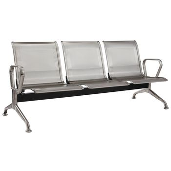 Airport / Heavy Duty Public Seating (Bench) - Stainless Steel