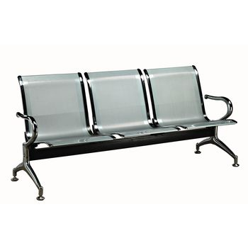 Airport / Heavy Duty Public Seating (Bench) - Standard Steel