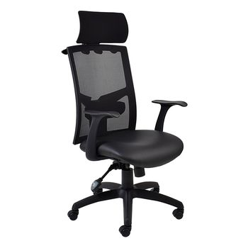 Winston Netted High Back Chair with Headrest