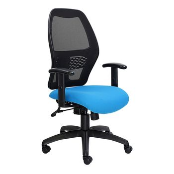 Xenon Medium Back Chair with Netted Back